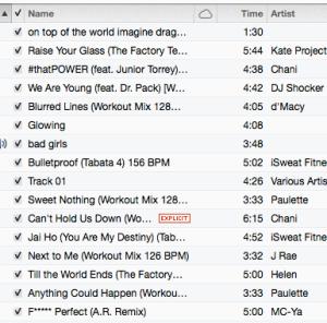 Playlist!